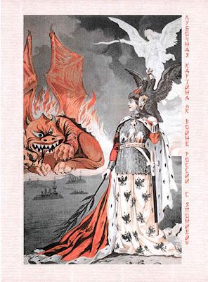 Russia-Japan War Poster