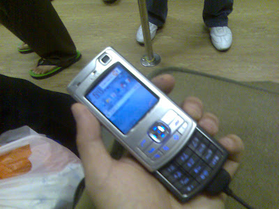 N80 in my hand
