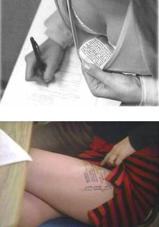 I had a female friend that was rusticated for writing on her laps, ...