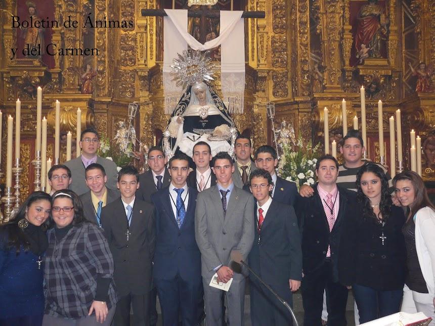 Boletin de Ánimas y del Carmen