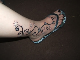 Star Foot Tattoos Picture 3