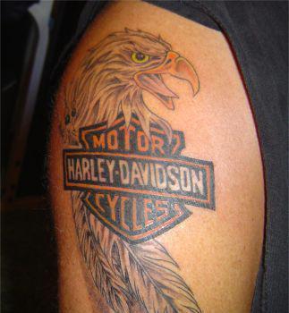Harley davidson tattoo designs on harley davidson tattoo designs