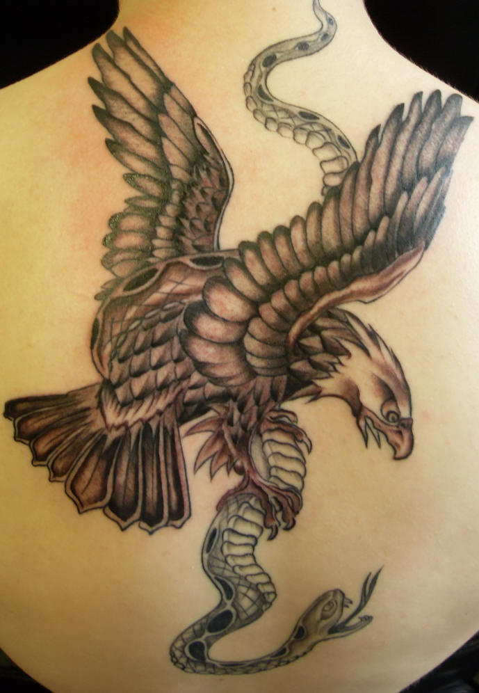 Eagle. - Tattoo Image Gallery, Tattoo Gallery, Tattoo Designs