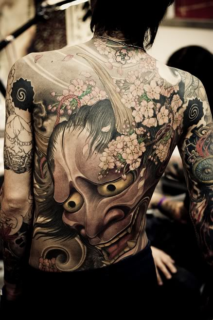Hannya Mask Japanese Tattoo