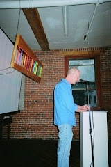 Chris Payne-Taylor reads at Art2Art4
