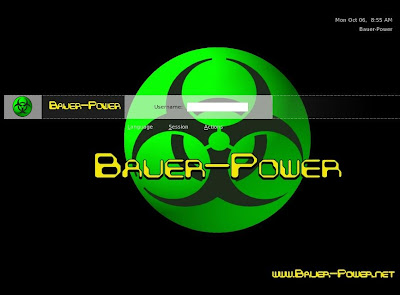 Bauer-Power GDM Theme Ubuntu