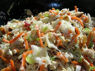 Crunchy Ramen Cabbage Salad