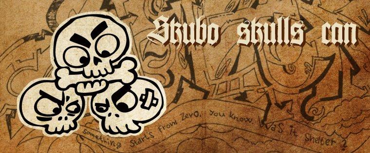 Skubo skulls can