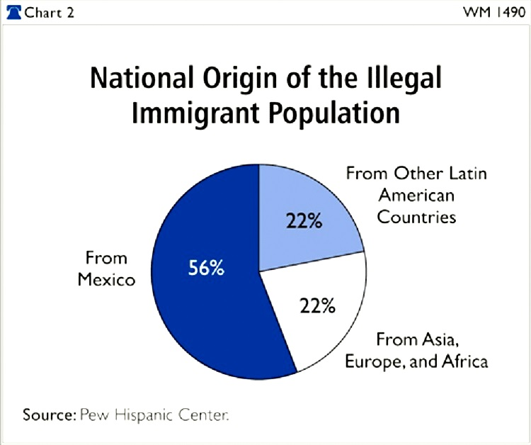state and national governments efforts in decreasing the number of illegal immigrants in the us Another concrete indication that immigrants are less likely than the native-born to be criminals is the fact that relatively few prisoners in the united states are immigrants according to an original analysis of data from the 2010 american community survey (acs) conducted by the authors of this report, roughly 16 percent of immigrant males.
