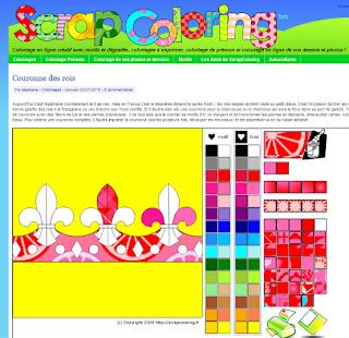 site de coloriage gratuit en ligne pour enfant petits préscolaire