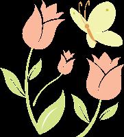 Image-fleur-tulipe-papillon