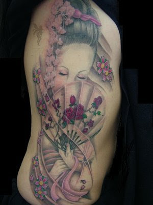 galeria del tatuaje. galeria de tatuajes japoneses. Tatuajes japoneses: tatuajes de Geishas