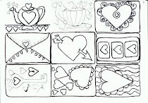 drawings of HEARTS
