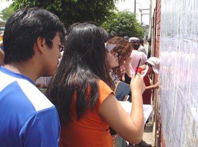 TELLINOS: CUADRO DE MERITO - UGEL 05 - PROCESO DE CONTRATO 2009