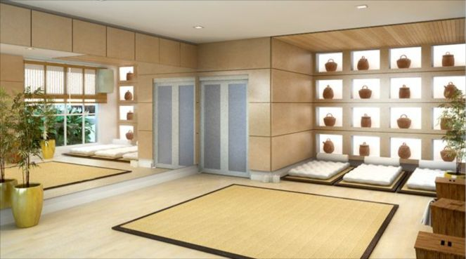 Decoracao de sala de yoga id ias - Salas de meditacion ...