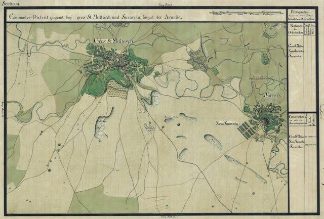 Harta Sannicolau Mare -1799