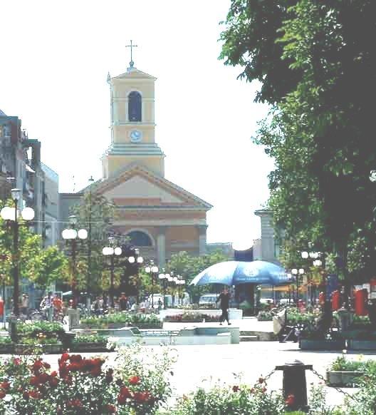 Centru orasului Sannicolau Mare