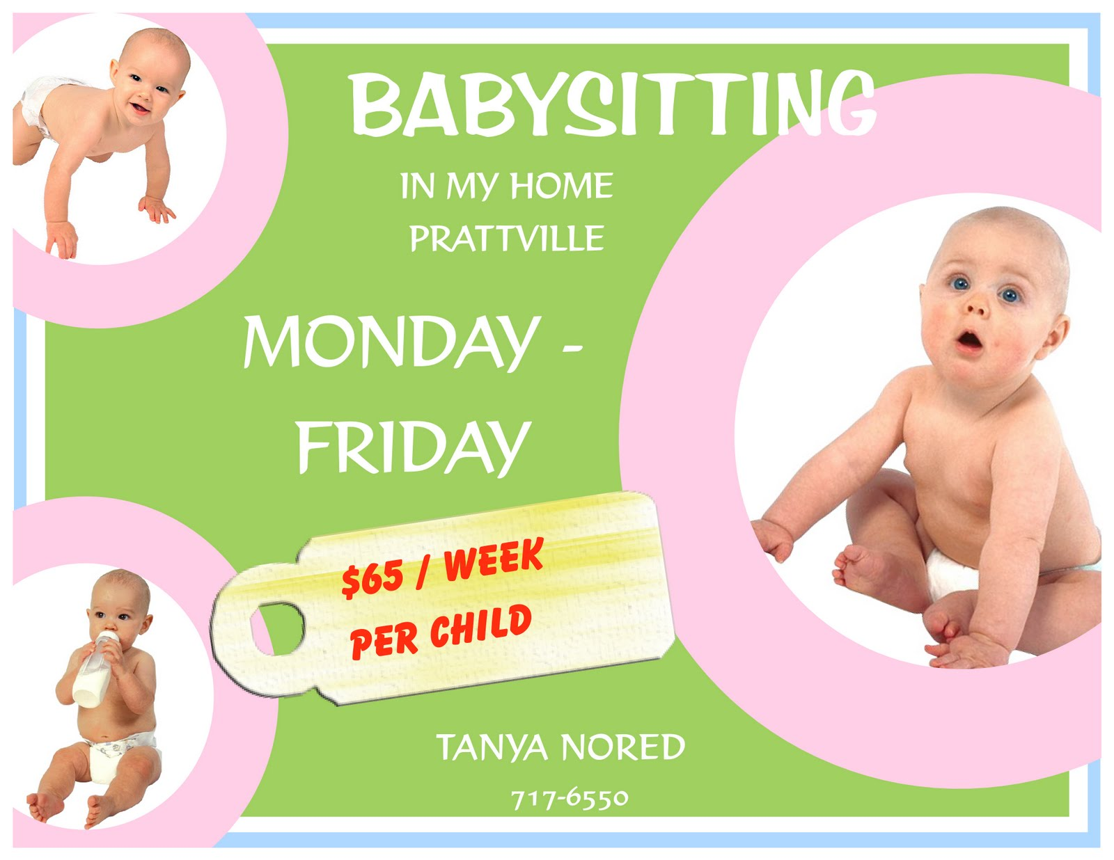 babysitting+ads+examples