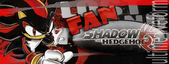 fan shadow the hedgehog