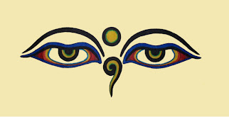 Compassionate Eye Of Buddha