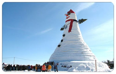 World Tallest SnowMan
