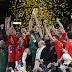 2012: La selección de España sigue al frente de la clasificación de la FIFA