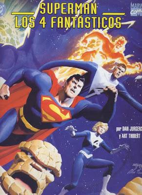 Superman y los 4 Fantásticos