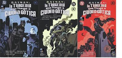 Batman - La tragedia que llego a Ciudad Gotica