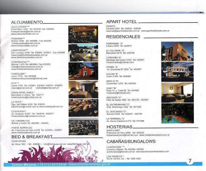 Hoteles de Posadas