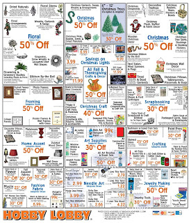 Hobby lobby weekly sales ad coupon