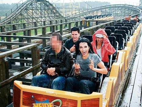 NEWS; Bill and Tom Kaulitz celebrated their 20th Birthday with a totally roller coaster party