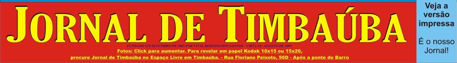 JORNAL DE TIMBAÚBA