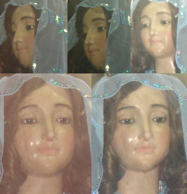 Virgen del Valle continua llorando en Cumana