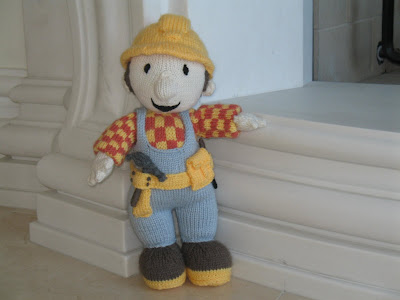 BOB THE BUILDER DOLL KNITTING PATTERN   KNITTING PATTERN