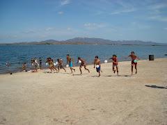 Lazer e esporte atividades promovidas pelo PETI e o PETECA