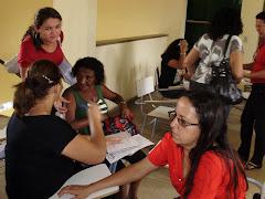 trabalho em grupo das coordenadoras pedagogicas