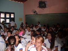 Seminário sobre Exploração do Trabalho Infantil na E.E.F Miguel Nunes