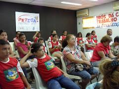 Palestra com as crianças do PETI,Entidades e Membros dos Conselhos