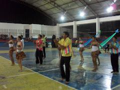 A CCF abrilhanta o evento com uma Dança Nordestina