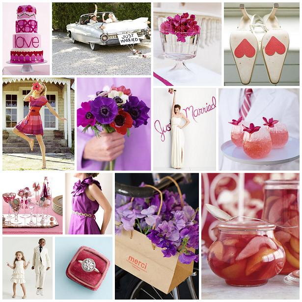 description plum is a great color for fall weddings but paired with bold