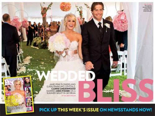 I love Carrie Underwood and I have been dying to see her wedding in all it 39s