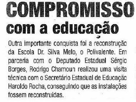 Prometemos e cumprimos ELEIÇÕES 2008
