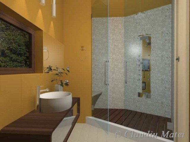 Modeling And Design, Animation And Rendering Studio Bathroom Design