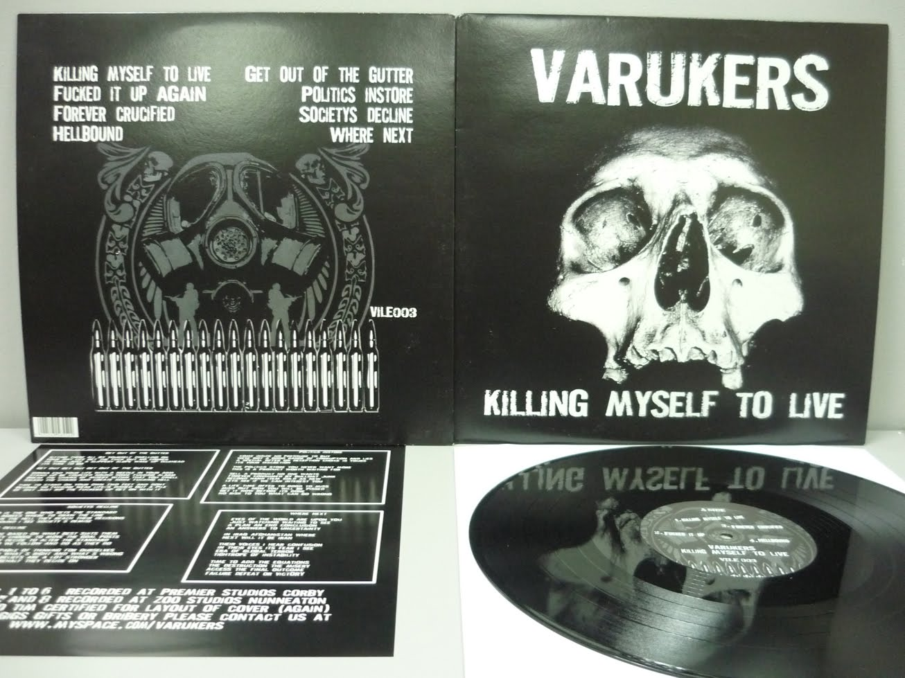 The Varukers - Murder