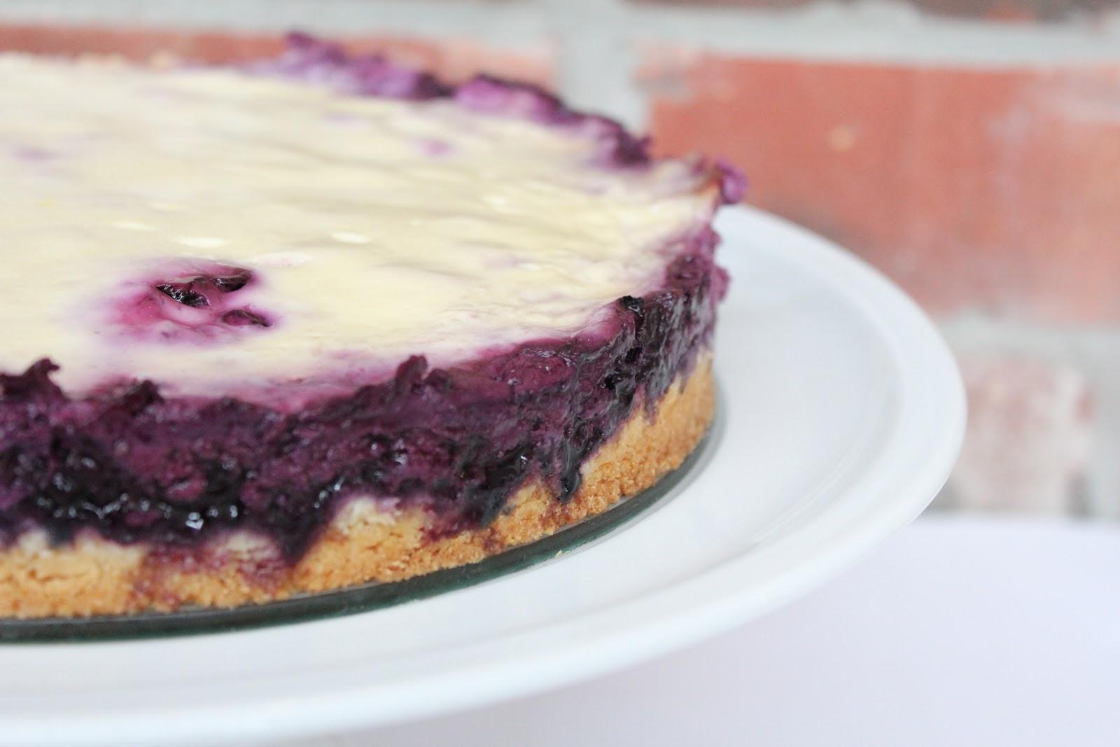 Blueberry Cream Cake Recipe — Dishmaps