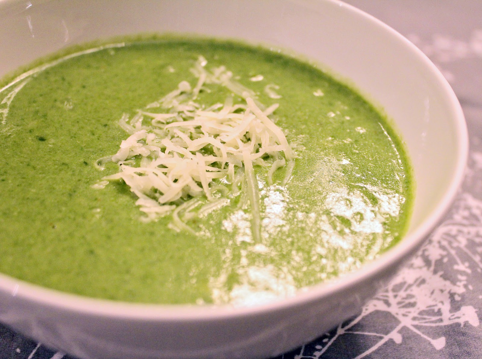 Being Suzy Homemaker: Cream of Spinach Soup