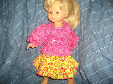 Even doll dresses are in my repertoire