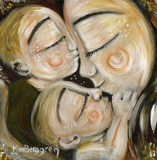 Motherhood Painting: Star Crossed