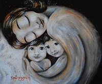 Motherhood Prints by Katie m. Berggren now available at Bella and Boo
