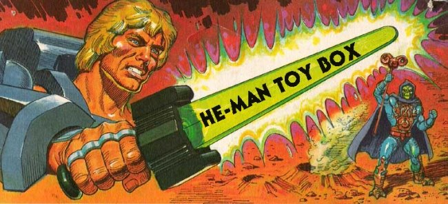 He-Man Toy Box